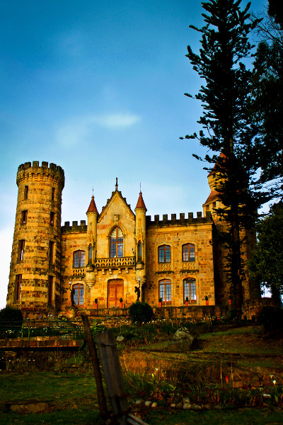 Gothic Castle in Chia, Columbia