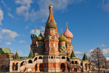 Saint Basil s Cathedral on Red Square in Moscow, Russia