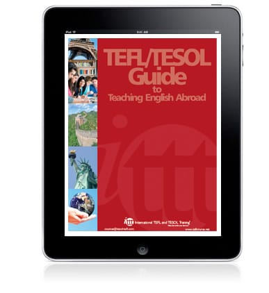 get an ITTT ebook guide on teaching English abroad