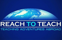 reach to teach company logo and motto